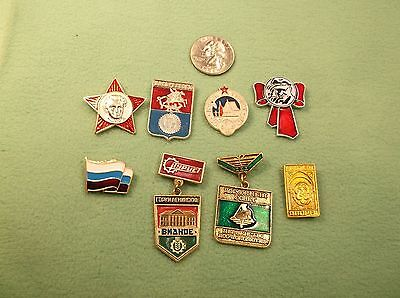 Lot Of Genuine Russian / Ussr / Similar Lapel Pins & Medals, Lots Of Variety • 18.08£