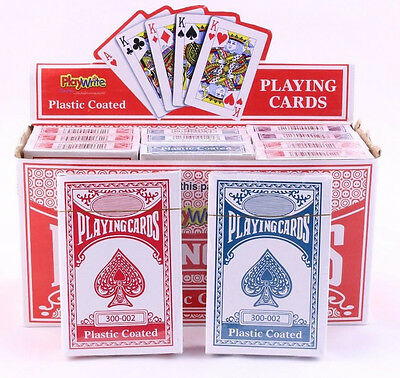 PLAYING CARDS - Poker Gaming Snap Etc Deck Kings Queens Ace - Pack Of 1, 2 Or 12 • 2.60£
