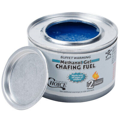 £7.49 • Buy Chafing Fuel Catering Flamos Methanol 74197 BBQ Buffet Gel Camping 2.5 Hour X 3
