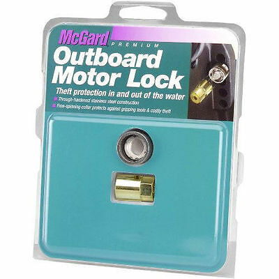 AU93 • Buy McGard 74049 Motor Outboard Lock 6-30HP  5/16 -18 Thread Fit THEFT PROTECTION!!