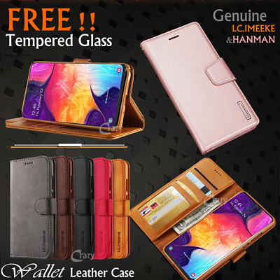 AU7.99 • Buy For Samsung Galaxy A50 A30 A20 A70 A5 A8 J8 2017 Leather Wallet Flip Case Cover