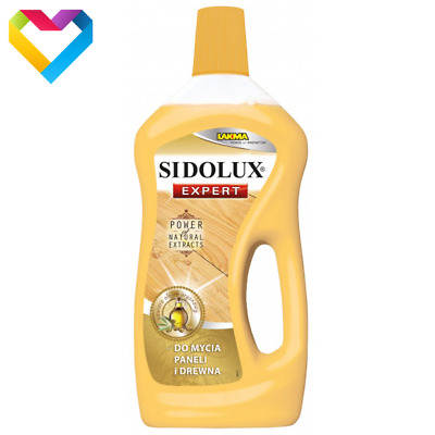 SIDOLUX EXPERT CLEANER FOR PANELS LAMINATE FLOOR AND WOOD WITH ARGAN OIL 750ml  • 7.90£