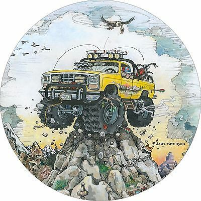 $ CDN93.09 • Buy Off Road 4x4 Truck Mountain Climb Spare Tire Cover Fits Jeep, Rv, Campers