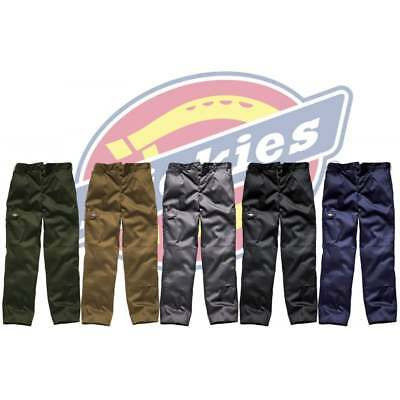 DICKIES REDHAWK SUPER WORK TROUSERS | Action Pro Cargo Combat | Button Fastening • 8.95£