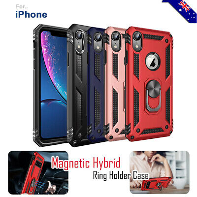 AU7.90 • Buy For IPhone SE 11 Pro XS MAX 8 7 6 6s Plus 5S 5 Shockproof Magnet Ring Case Cover