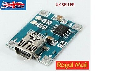 5V Mini USB 1A Lithium Battery Charging Board Lipo Charger Module For Arduino UK • 3.99£
