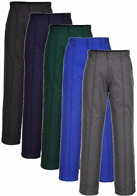 £10.65 • Buy Portwest Preston Polycotton Hard-wearing Sewn-in Crease Work Trousers #2885