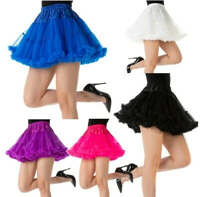 Luxury Thick TUTU Dance Burlesque 1920's Fancy Dress Costume Accessory 3 LAYER • 6.99£