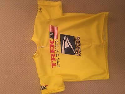 Lance Armstrong Signed Yellow Jersey Rare Authentic • 325.62£