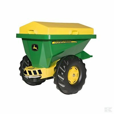 £139.38 • Buy Rolly Toys John Deere Childrens Pedal Tractor Trailed Spreader Ride On Farm Toy