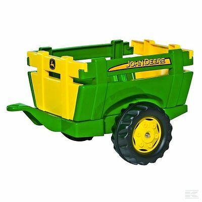 £53.95 • Buy John Deere Childrens Pedal Tractor Trailer Ride On Farm Toy