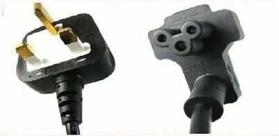 £2.58 • Buy Dell Clover Leaf Genuine Original 0TX415 Mains Cable  PA-10 PA-3E PA-12 Adapter