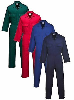 £14.90 • Buy Portwest Polycotton Stud-front Multi-pocket Coverall/boilersuit/overall #S999