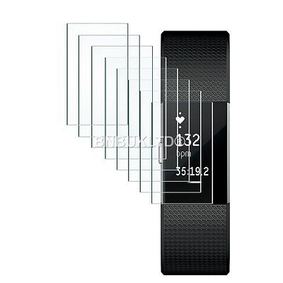 $ CDN6.85 • Buy 10 Pack Crystal Clear Invisible Screen Protector Guards For Fitbit Charge 2 HR