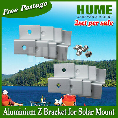 AU20 • Buy Z Bracket Mount For Solar Panel 4 For 1set(this Is For 2 Sets)