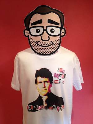 Young Ones - Mike T-Shirt - White Shirt (Christopher Ryan / Punk) • 13£