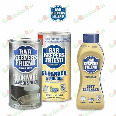 £8.99 • Buy Bar Keepers Friend Cookware Stainless Steel / Polish Cleanser Polish Powder 340g