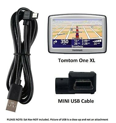 MINI USB Data Sync CHARGER Charging Cable For TomTom ONE XL 1.5m • 3.69£