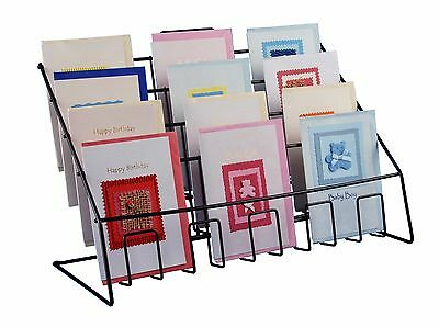 £34.95 • Buy Counter Display Stand For Mixed Sized Greeting Cards, Leaflets, Books & DVD's