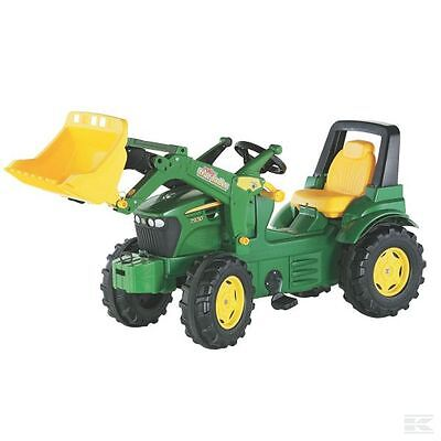 £265.71 • Buy Rolly Toys John Deere Childrens Pedal 7930 Tractor With Loader Kids Ride On