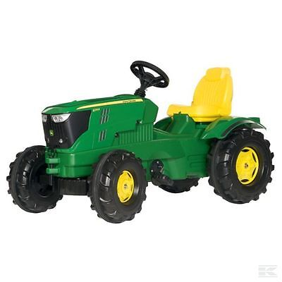 £143.82 • Buy Rolly Toys John Deere Childrens Pedal 6210R Tractor Kids Ride On Farm Toy