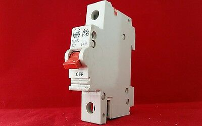 £9.99 • Buy Wylex Nsb32 32a 32amp B Type B32 Single Pole Sp 1p Mcb Fuse Switch Clean Tested