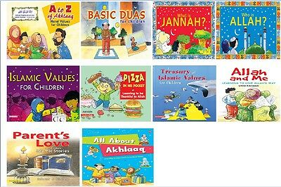 £45.95 • Buy Moral Values Series For Children: Islamic Kids Stories Books Read & Learn