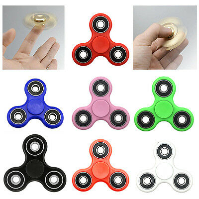AU1 • Buy 3D Fidget Hand Finger Spinner Focus Stress Reliever EDC Toys For Kids Adults ADD