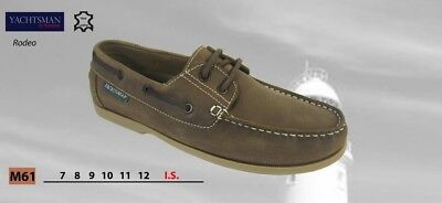 Yachtsman Seafarer Deck Shoes    Free Shipping     Brand New  RODEO • 32.95£