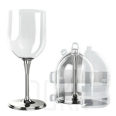 $24.90 • Buy Portable Wine Glass Unbreakable Outdoor Cup With Sealed Case - Various Color