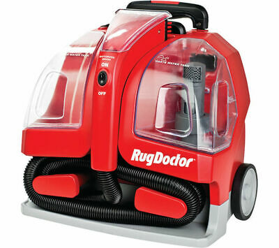 RUG DOCTOR 93306 Portable Spot Cylinder Carpet Cleaner - Red - Currys • 149£