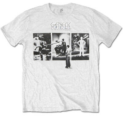 Genesis 'The Lamb Lies Down On Broadway' T-Shirt - NEW & OFFICIAL! • 13.29£