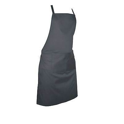 £3.99 • Buy Plain Apron Kitchen Cooking Chefs Baking Pocket Craft BBQ Front Butcher Catering