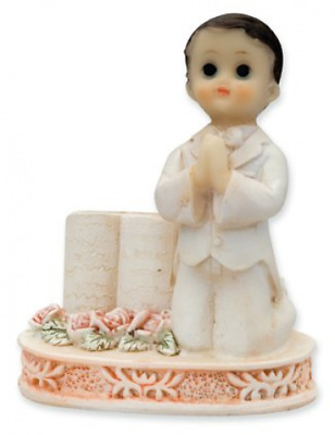 First Holy Praying Boy With Bible Cake Topper Ornament Gift  • 6.95£