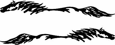 $ CDN43.49 • Buy 11 X 72 Horse Pony Decal Truck Trailer Car Graphic Set Of 2