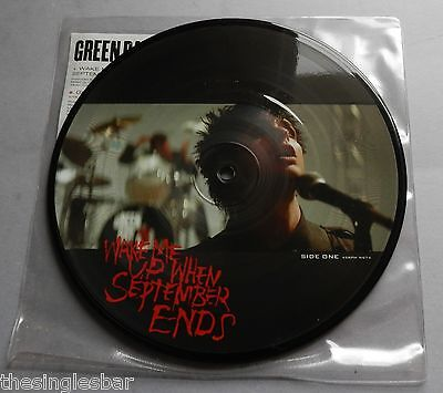 Green Day - Wake Me Up When September Ends 2005 Picture Disc 7  Single • 20.99£