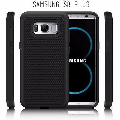 $ CDN6.79 • Buy Fits Samsung Galaxy S8 PLUS Case Shockproof Rugged Impact Hybrid Cover - Black