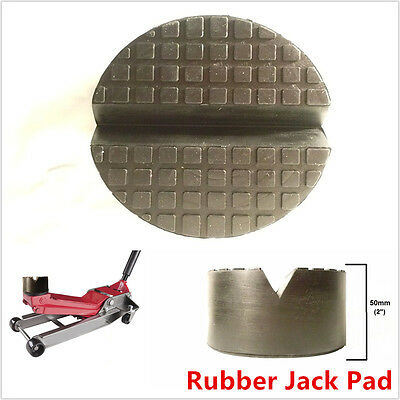 1Pcs Extra Large Jack Pad Disk For Floor Jack Pinch Weld Rail Adapter V Slotted  • 9.84£