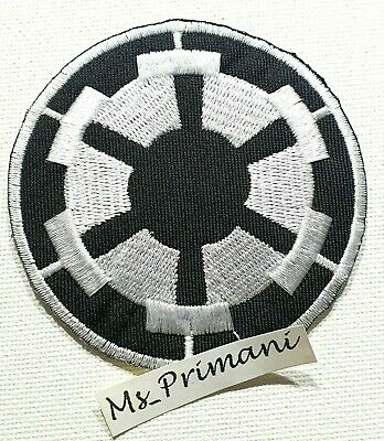 Star Wars Black Imperial Forces Embroidered Iron On Patch Badge Logo Applique • 1.75£