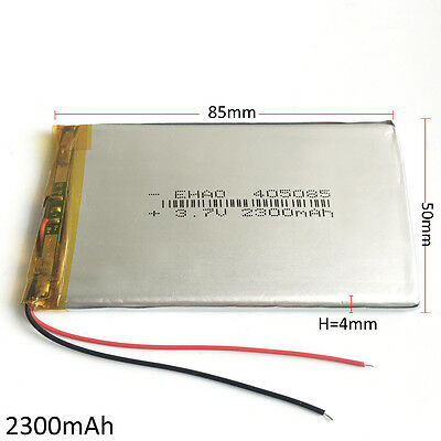 £7.99 • Buy 3.7V 2300mAh LiPo Polymer Rechargeable Battery For Mobile Phone Powerbank 405085