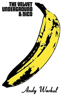 $11.95 • Buy THE VELVET UNDERGROUND & NICO Banana 23.5  X 33  ANDY WARHOL Large Music Poster
