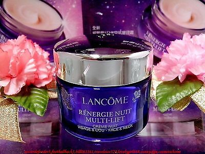 LANCOME Renergie Nuit Multi-lift Anti-Wrinkle Night Cream Face & Neck ◆15ML◆F/P  • 15.79£