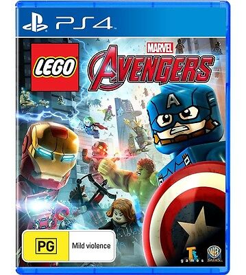 AU79 • Buy Lego Avengers For Ps4 Game Adventure Playstation New Au Kids