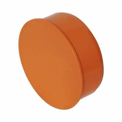 Sewer Pipe End Cap - 110mm, 160mm, 200mm, 250mm & 315mm Sizes • 8.99£