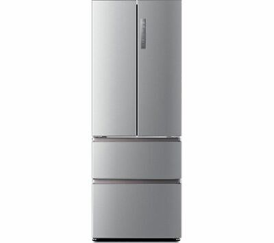 View Details HAIER HB16FMAA 60/40 Fridge Freezer - Stainless Steel - Currys • 529.00£