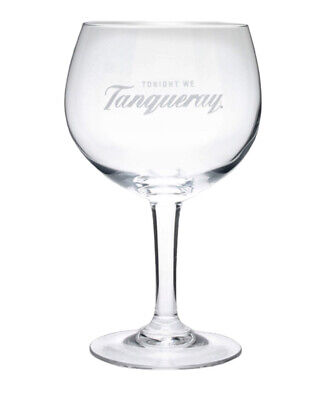 Single  Tonight We  Tanqueray Gin Glass 62cl Brand New 100% Genuine Official • 11.95£