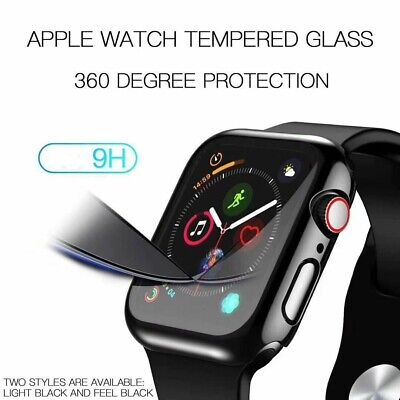 AU8.99 • Buy Apple Watch Full Body Case Cover & Built-in Screen Protector For Series 4 3 2 1