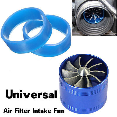 $17 • Buy Car SUV Supercharger Turbine Turbo Charger Booster Air Intake Fan Fuel Gas Saver