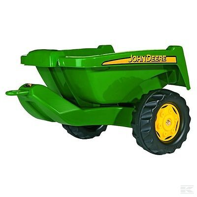£54.34 • Buy Rolly John Deere Childrens Pedal Tractor Tipping Trailer Toy Rolly Kid