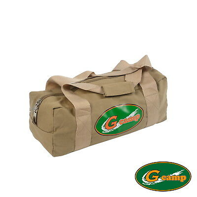 AU39.90 • Buy G Camp Canvas Bag Carry Travel Tent Peg Guy Rope Camping Trailer 4wd Stove Free